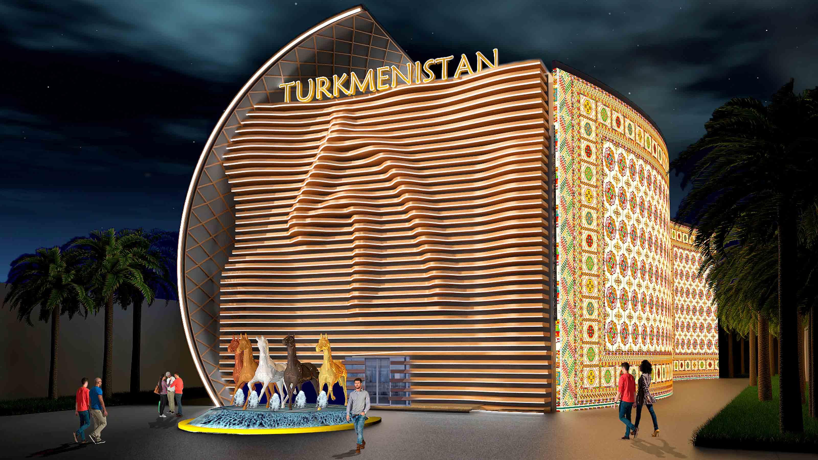Turkmenistan Pavilion Expo 2020 Dubai - Exhibition Pavilion